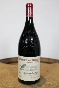 Bosquet des Papes - Chateauneuf-du-Pape - Chante Le Merle VV 2015 Magnum