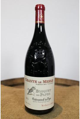 Bosquet des Papes - Chateauneuf du Pape Chante Le Merle Magnum - 2015